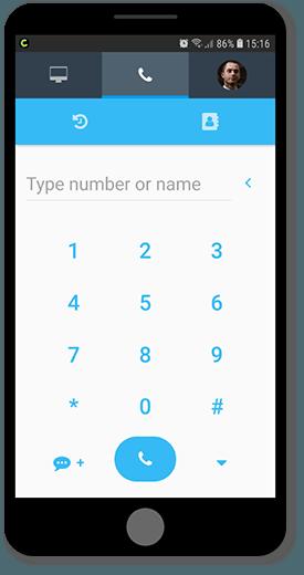 Conpeek dostarcza aplikacje do systemu contact center, która działa na urządzeniach mobilnych