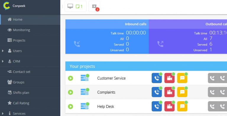 Kompleksowy system wsparcia komunikacji z klientem - Conpeek
