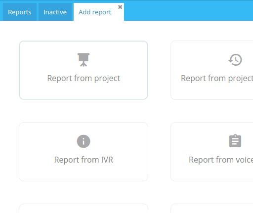 System contact center Conpeek dostarcza duży wybór raportów