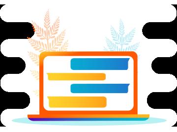 Wykorzystaj funkcję chatu podczas wideokonferencji online