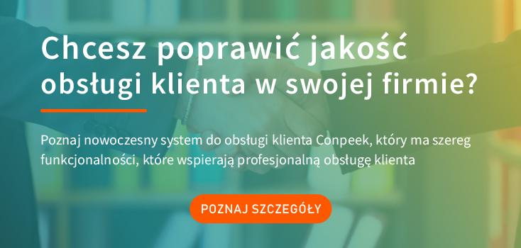 system obsługi klienta Conpeek - oprogramowanie do obsługi klienta
