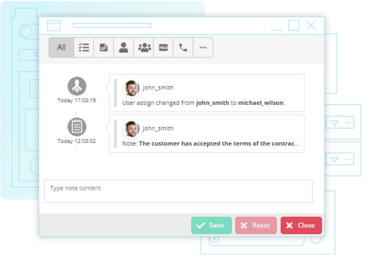 Conpeek dostarcza system do back office, który możesz wykorzystać do obsługi klienta