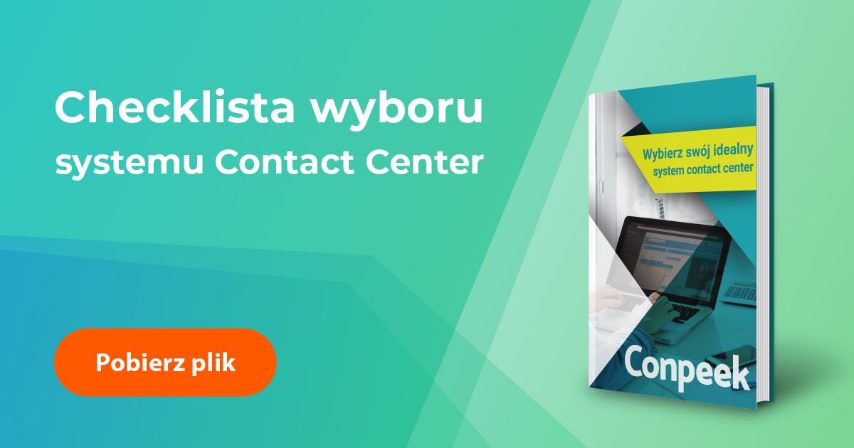 Checklista funkcjonalności systemu contact center
