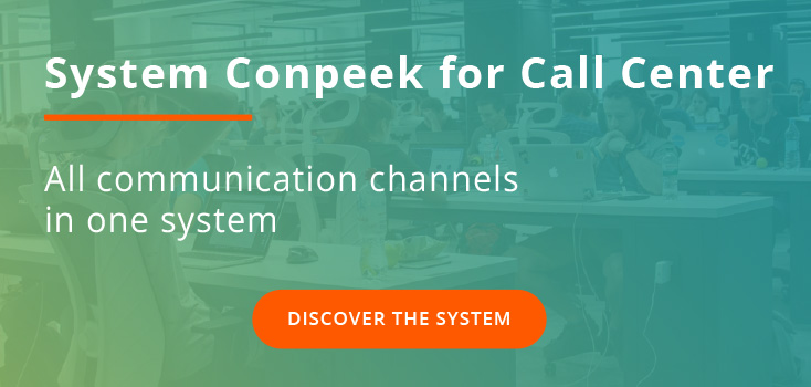System call center conpeek